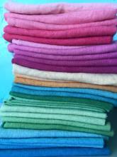 Fat 1/8ths in wool fabric